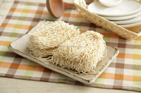 Handmade traditional refined noodle fresh ramen noodle