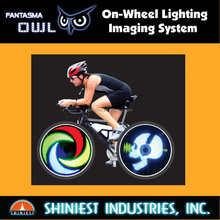 2017 Fantasma Owl-Bike BK-2071 Led Wheel Light for Bikes