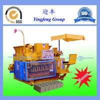 Yingfeng Brand Small Investment cement block making machine sale in ethiopia QMY6-25