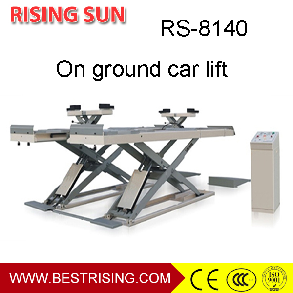 Car repair used double scissor hydraulic lift