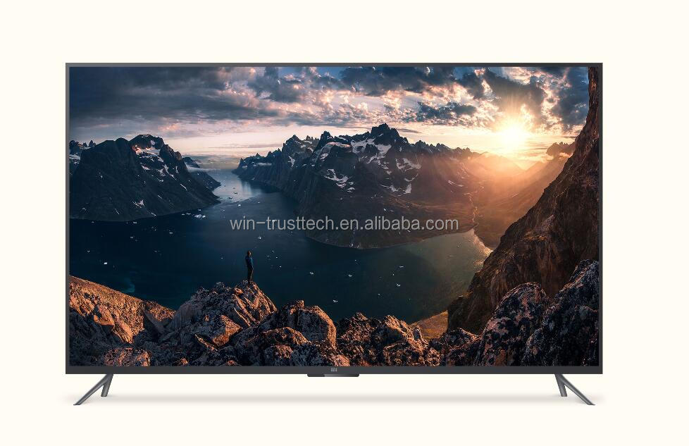 mabufacturer Alibaba Stock Price Frameless 24 inch UHD Smart led TV 4k Curved