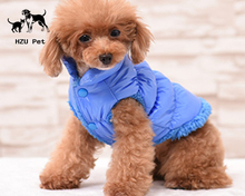 Dogs Down Jackets Warm Pets coat Winter Thickening Cotton Padded Clothes