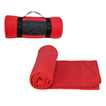Washable Weighted Polar Fleece Blanket for Camping and Hiking