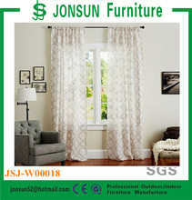 100% polyester window beautiful curtains , decorative beautiful curtains glass curtain wall