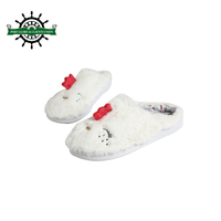 Customized Cozy Soft Jacquard Coral Fleece Indoor Slipper