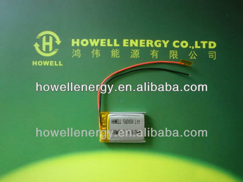 3.7v 200mAh 502030 battery in wrist watches