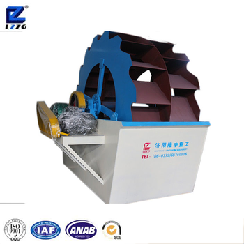 Gravel sand spiral washing plant for mud purification with good price