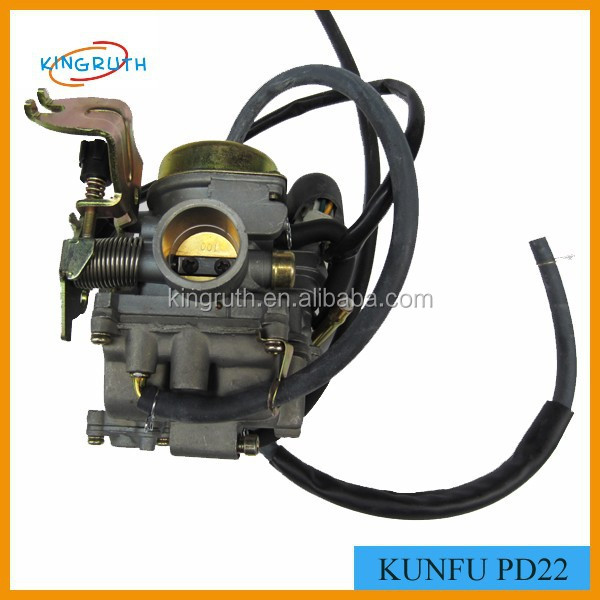 Original kunfu carburetor pd22 KUNFU PD22 GY6 100CC kf carburetor