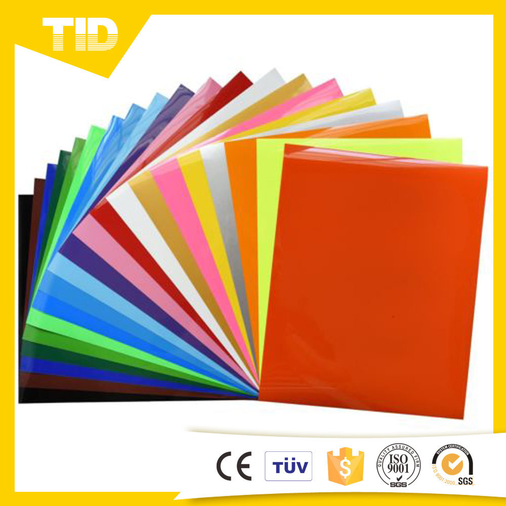 Pu Flex heat transfer vinyl sheet for t shirt