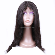 Guangzhou cheap virgin lowest price brazilian lace wig human hair, natural looking full lace wig with baby hair