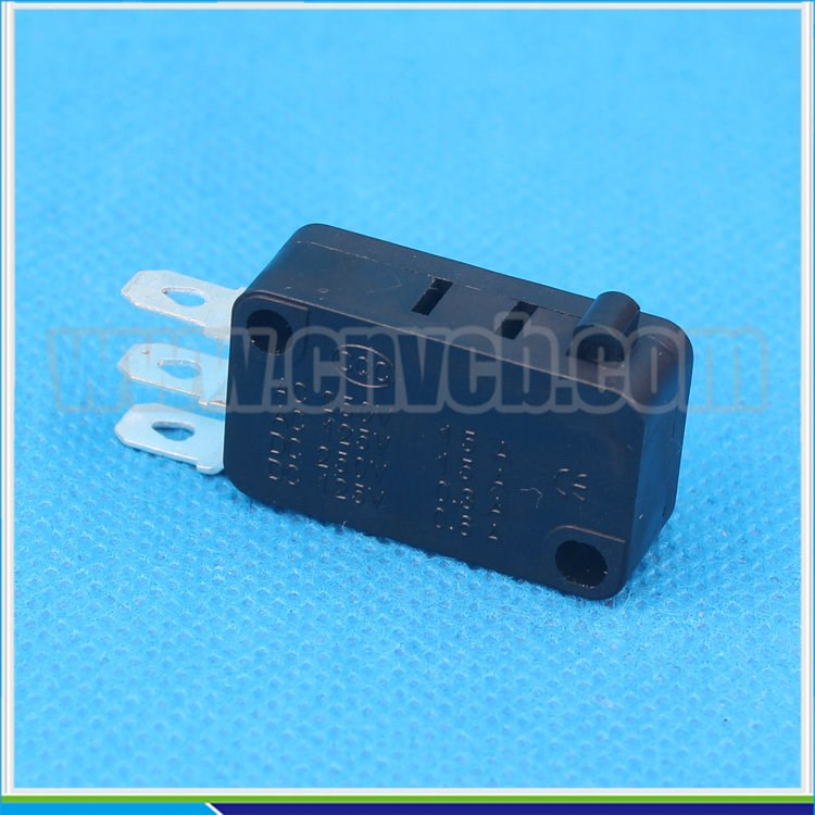M09 KW7-0D CE RoHS ABS plastic 15A/250VAC 3 pin solder terminal black micro switch