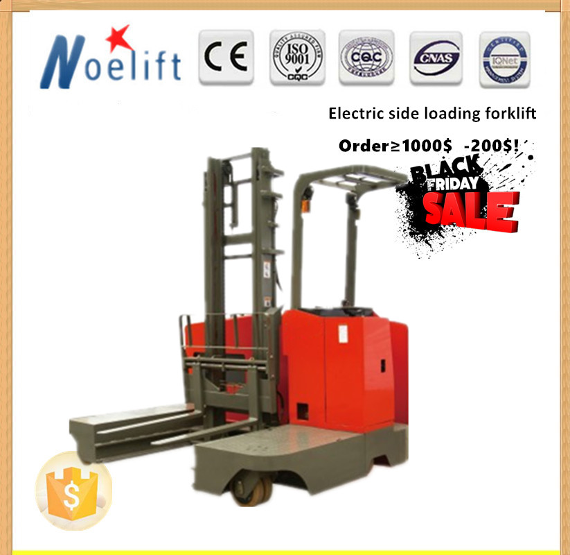 24v battery charger 2 ton load capacity side load electric reach truck, reach system