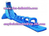 giant double line inflatable water slide with exciting sliding chute ID-SLL008