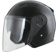 DOT approved ABS material open face motorcycle helmet with dual visor