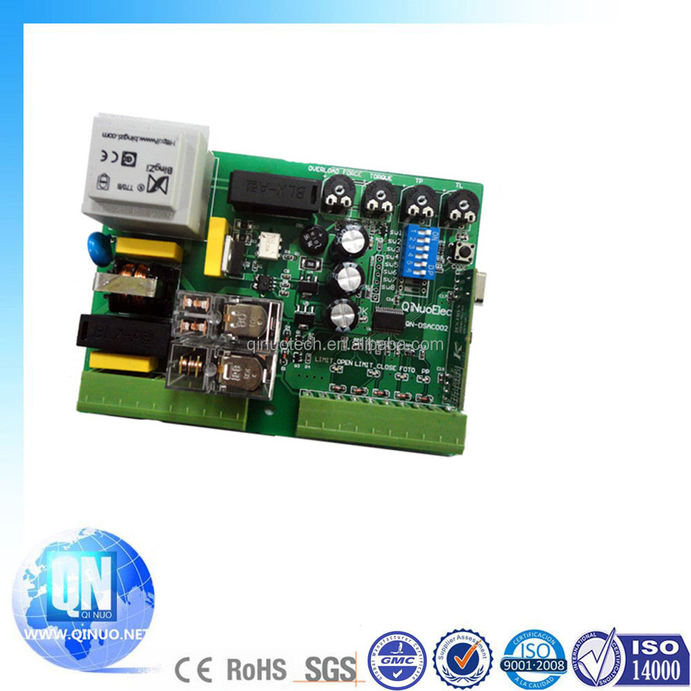 QN-DSAC001 multi-function 315mhz 433mhz rolling code sliding gate control board