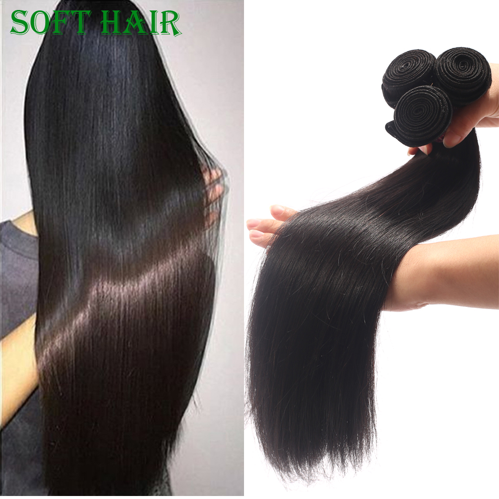Extension <strong>human</strong> hair indian <strong>human</strong> weaving straight natural color
