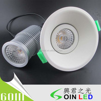 dimmable 12W led downlight with SAA C-tick for shop 3 inch cutout 80mm 12W led sharp cob downlight philipss led downlight
