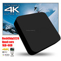 2016 hot selling RK3229 1G DDR3 8GB nand flash wireless bluthtooth tv box android 4.4
