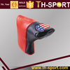 USA Flag Leather Blade Putter Golf Head Cover