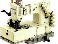 Kansai Special DLR-1508SPF 4 needle Double Chain Stitch Sewing Machine