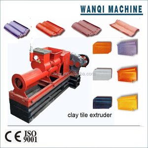 2015 Zhengzhou WANQI hot selling!!! cement/clay roof tile making machine for sale