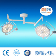 Famous brand Nantong Medical double light stand work lamp operating zs600 i/zs600 ii