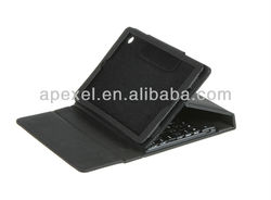 For Mini ipad case stand with bluetooth keyboard BK-24