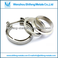 stainless steel exhaust pipe flange