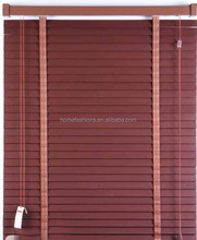 25mm 50mm 65mm Wooden Blinds bamboo shades factory in China