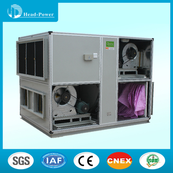 50000m3/h air flow wheel /rotor type heat recovery fresh air handling unit