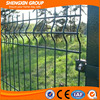 galvanized and PVC coated wire mesh fencing as security fence