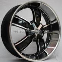 High performance 22 inch chrome alloy rims for cars