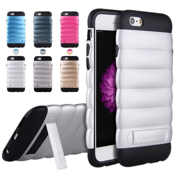 TPU and pc phone cover for iphone 6