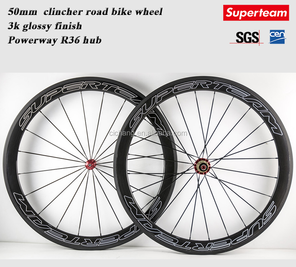 carbon 3K rims surface carbon fiber bike wheels road bike wheel top 10 bicycle manufacturers carbon cycle wheel