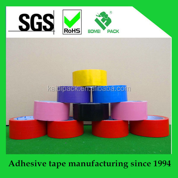 cheap colored custom printed duct tape with free sample