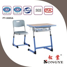 high quality adjustable height children desk and chair