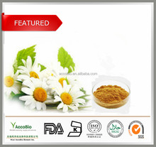 Bulk Supply Cosmetic Products Chamomile Flower P.E 4:1/Chamomile P.E Apigenin 98%HPLC