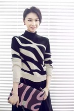 Black and white striped women sweaters 2016,new design sweater dress,woolen sweater new designs for ladies/girls