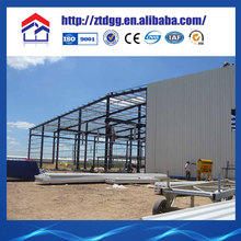 Easy installation Light steel structure prefabricated pig house