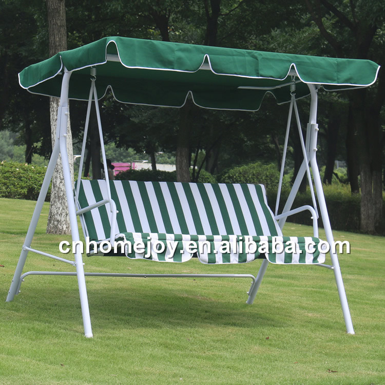 High quality three seat swing chair outdoor swing sets for for How to make jhula at home