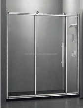 New Quadrant Shower Enclosure Walk In Corner Cubicle Glass Door+Stone Tray+Waste