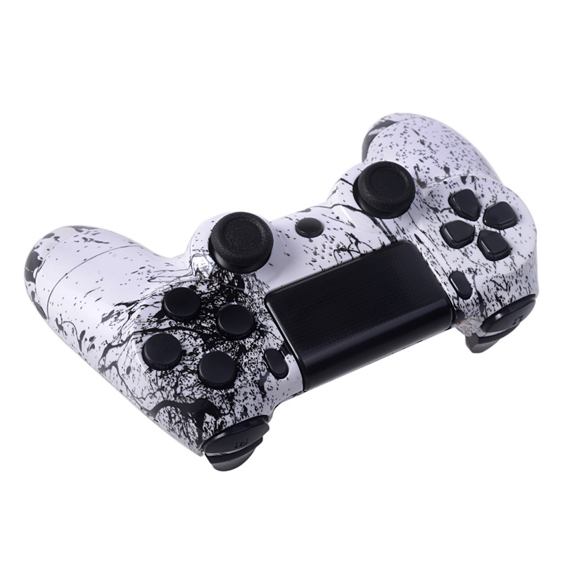 Full housing shell with button set for PS4 controller shell case