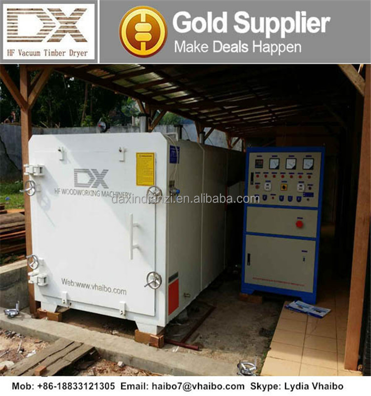 DX-4.0III-DX Daxin technology new designed HF vacuum 4cbm timber drying kiln oven