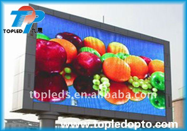 China Supplier p10 outdoor vivid colorful led programmable display board
