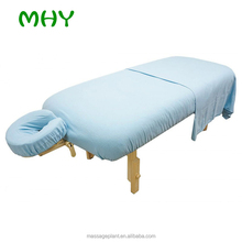 Best choice Economic and Reliable wholesale flannel cotton massage sheets set and face rest cover Customized
