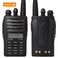 Security Guard Equipment Dual Band VHF UHF Two Way Radio Kids Walkie Talkie