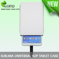 universal leather slip tablet case,2d sublimation case
