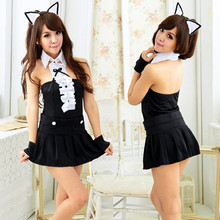 2017 Sexy Women Lingerie Bunny Rabbit Outfit Cosplay Fancy Dress For Halloween Costume