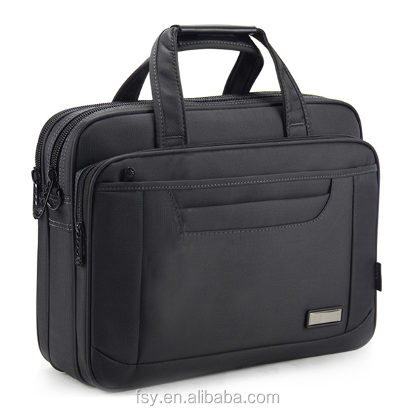Fashion mens shoulder bag business top bag laptop computer bag