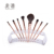 Meidao 8 pcs custom luxury cosmetic makeup brush private label make up brushes